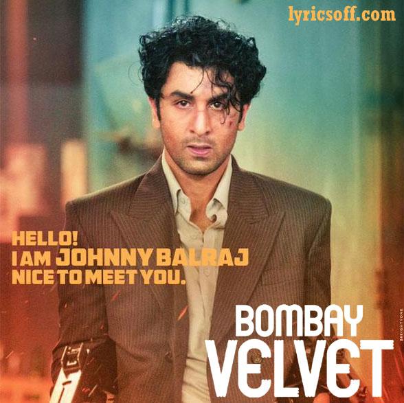 Dhadaam Dhadaam Lyrics from Bombay Velvet