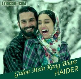 Gulon Mein Rang Bhare - Haider