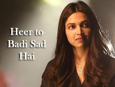 Heer Toh Badi Sad Hai Lyrics from Tamasha