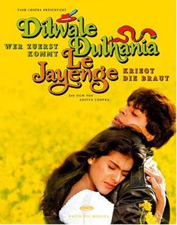 Mere Khwabon Mein Jo Aaye Lyrics - Dilwale Dulhania Le Jayen