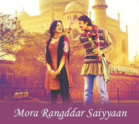 Mora Rangdar Saiyan - Jigariyaa