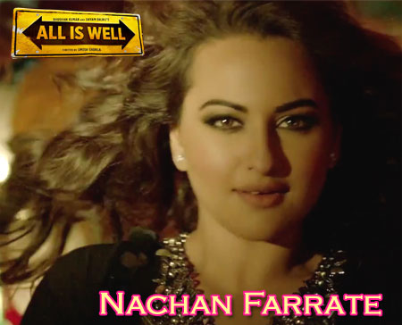 Nachan Farrate Lyrics from All Is Well
