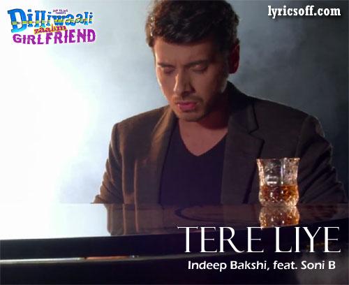 Tere Liye song feat. Divyendu and Ira
