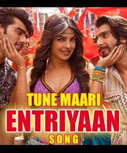Tune Maari Entriyaan Lyrics Gunday Song Ft Priyanka Chopra
