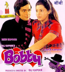 Hum Tum Ek Kamre Mein Band Hon Lyrics from Bobby