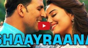 Aaj Dil Shayrana Video