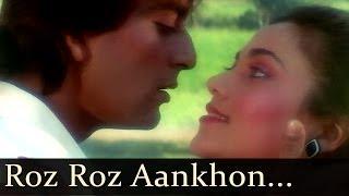 Roz Roz Aankhon Tale Ek Hi Sapna Chale Video