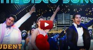 the disco song official full song student of the auto